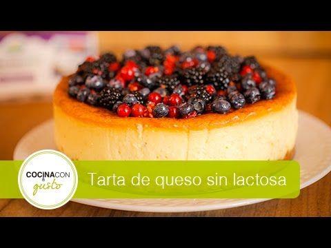 Tarta Sin Lactosa Tarta De Queso Tartas Y Recetas De Tarta De Queso