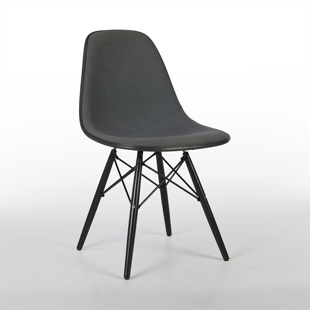 For sale grey upholstered herman miller original eames