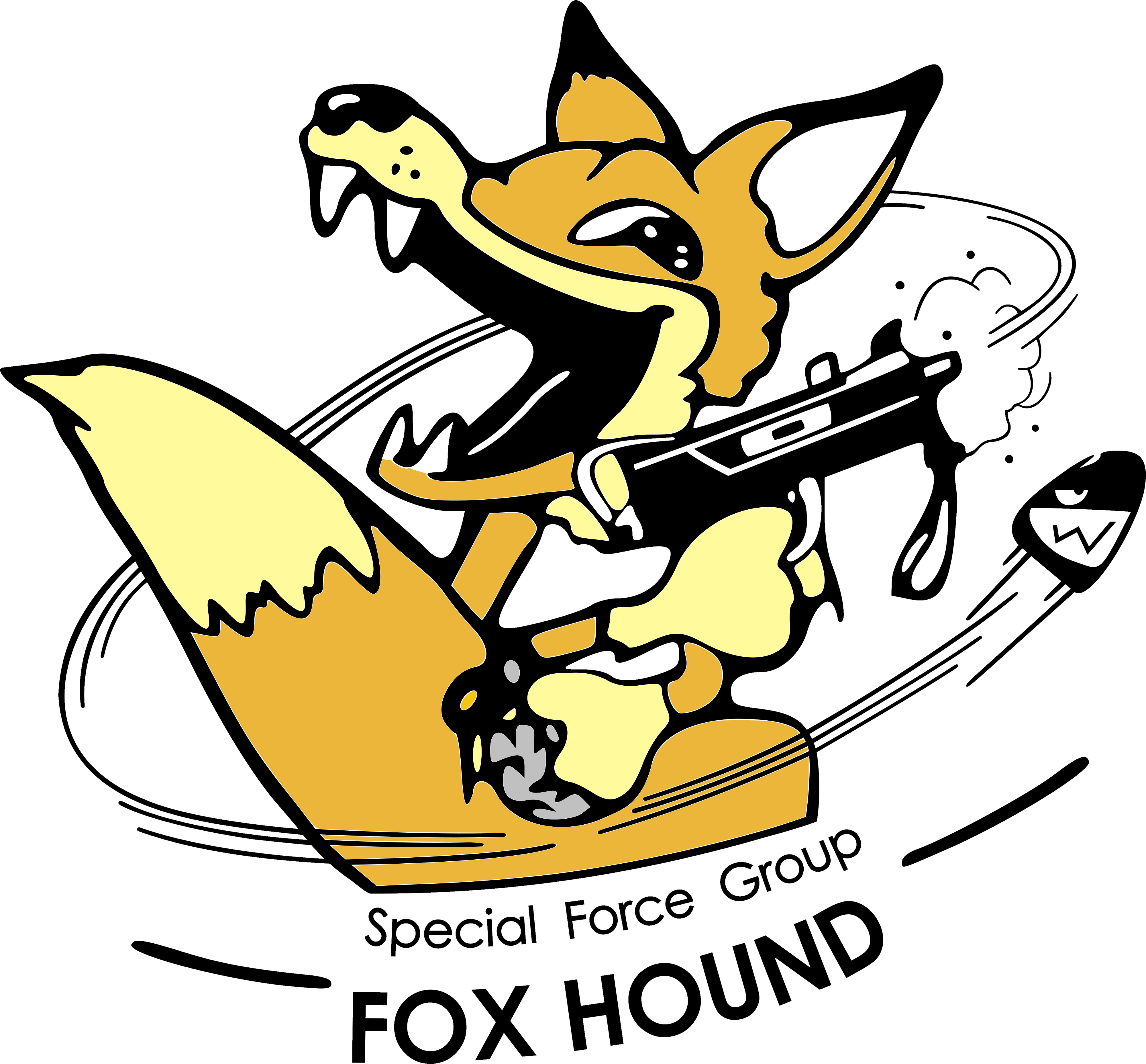 Download Within Created A Vector For The Old 90s Foxhound Logo Enjoy MetalGearSolid Mgs MGSV MetalGear Konami Cosplay PS4 Game MGSVTPP