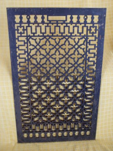 Large-20-1-4-x-32-3-16-Cast-Iron-Floor-Grate-No-Damage-Free