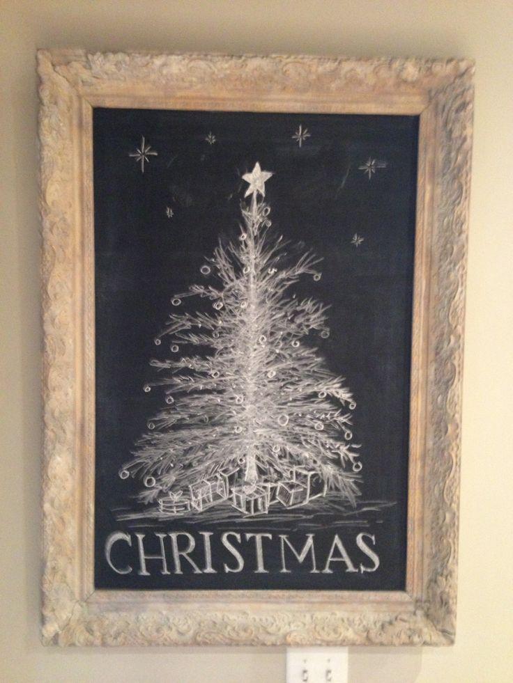 kitchen chalkboard art ideas