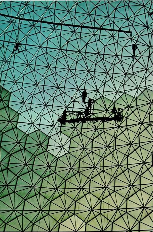 FROM WEHADNOIDEA. Buckminster fuller, Structure