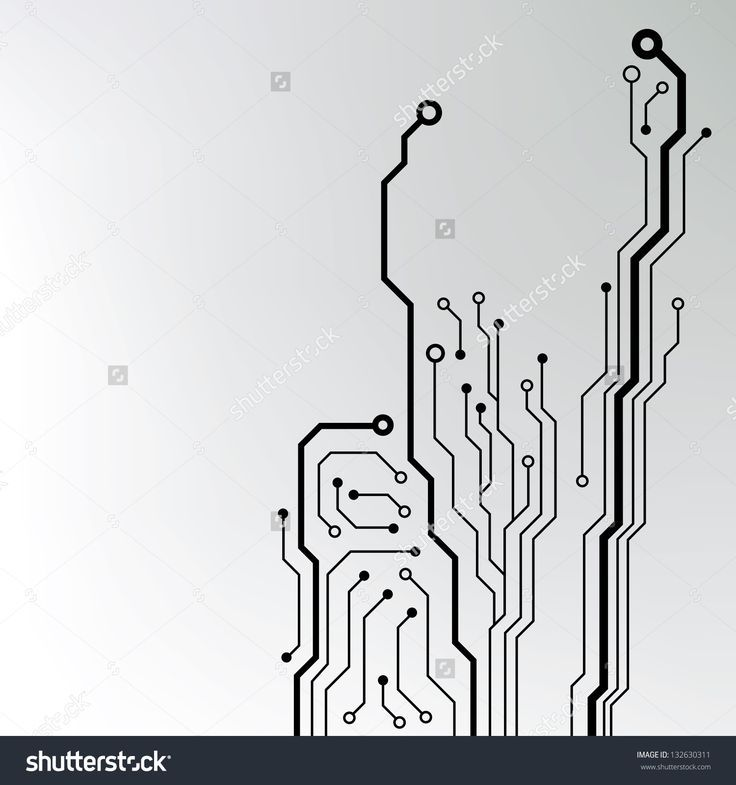 Circuit Board Pattern. Abstract Technology Circuit Board Vector ...