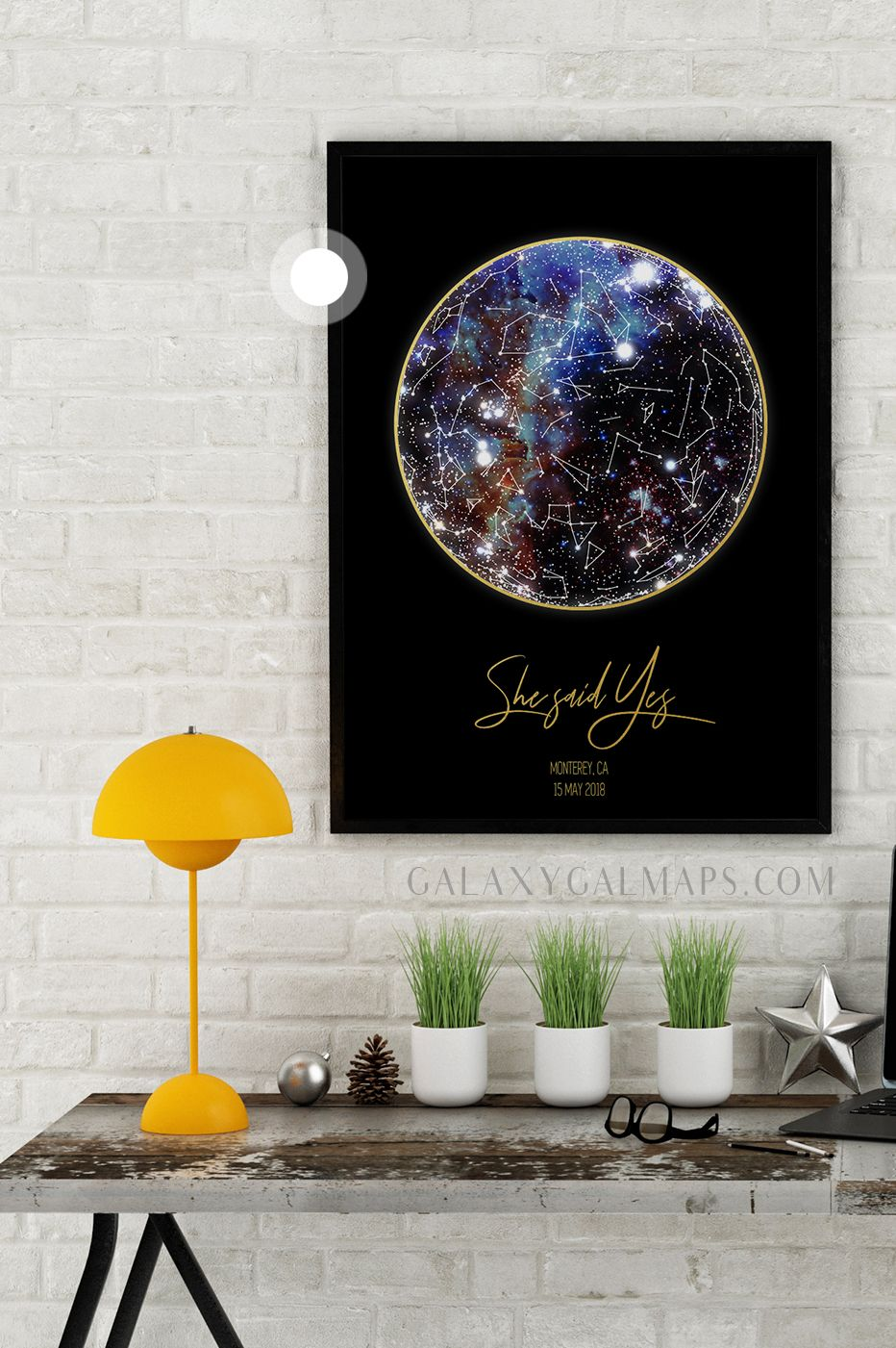 Personal Star Map By Date And Location Coordinates Wall Art Design Your Own Wall Decor Personalized S Wall Art Designs Beautiful Blog Location Coordinates