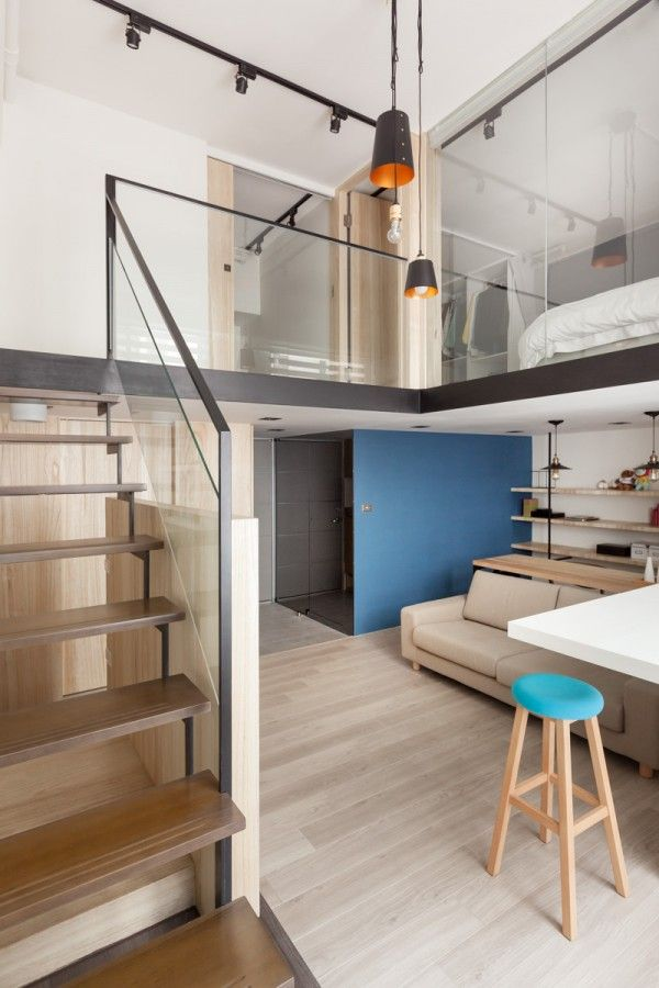 A Modern Loft With Character Home Designing Modern Loft Small