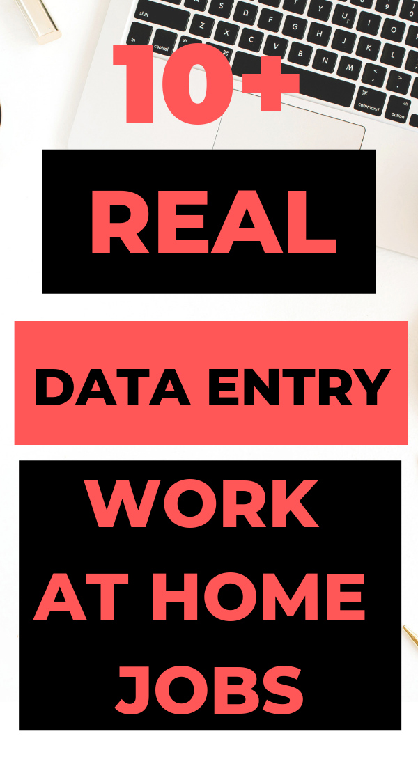 10 Legitimate Data Entry Work From Home Jobs Online Jobs From
