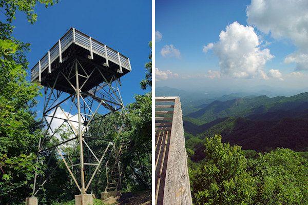 Fryingpan Mountain Lookout Tower North Carolina Blue Ridge Parkway Camping In North Carolina North Carolina Mountains Nantahala Outdoor Center