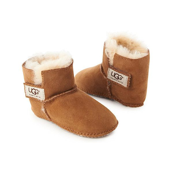 e33871399f5 UGG Erin baby booties ($75) ❤ liked on Polyvore featuring baby ...