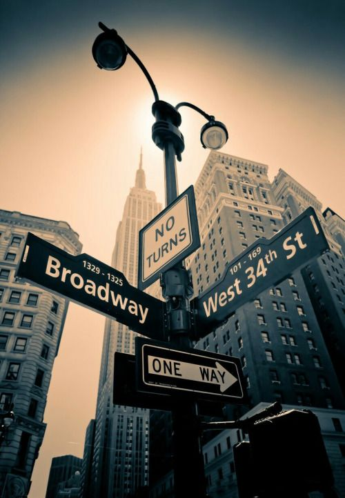 Signs of New York by nycinspiration #nyc | Traveling | Pinterest ...