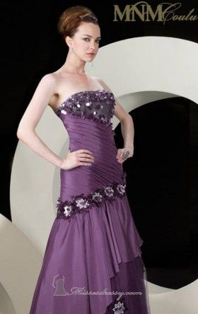 strapless dress couture MNM 5690 Dress