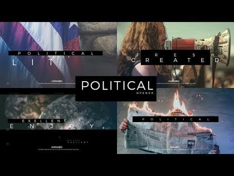 Political Opener Videohive After Effects Templates