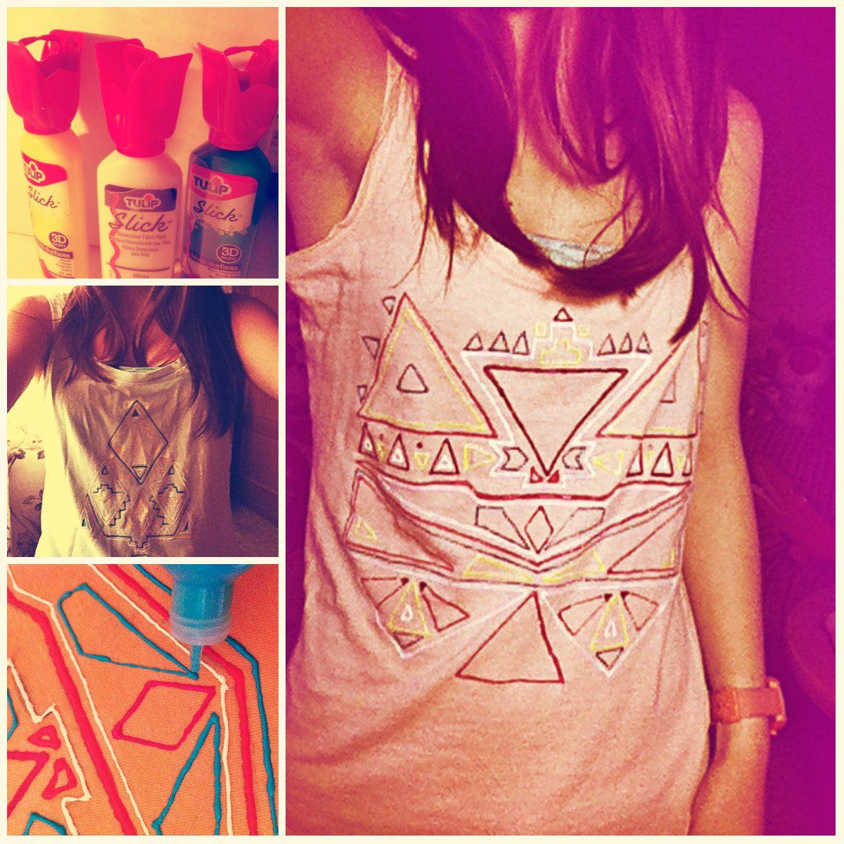 tu pròpia camiseta azteca;)