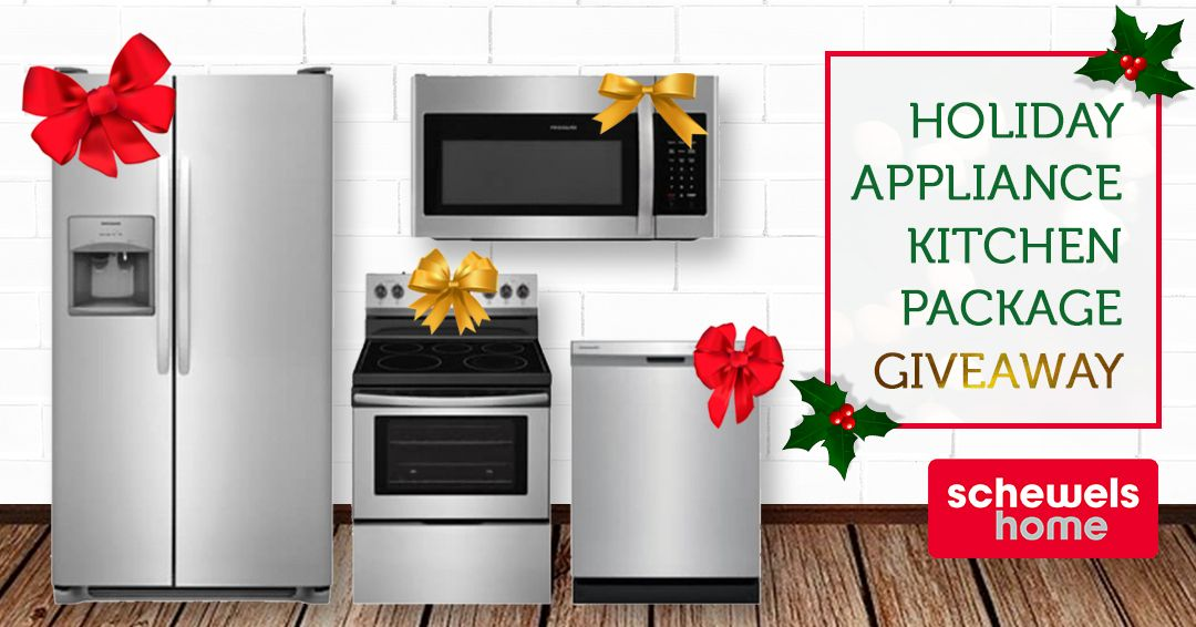Schewels Home Holiday Appliance Kitchen Package Giveaway By
