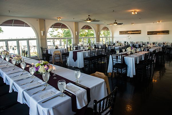 Outer Banks Destination Wedding Reception At Avenue Grille By Daniel Pullen Photography