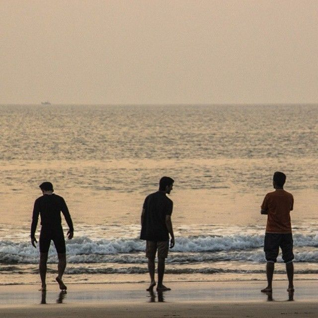 Friends Inc Gokarna Beach Trip Morning Sunrise Summer Ombeach