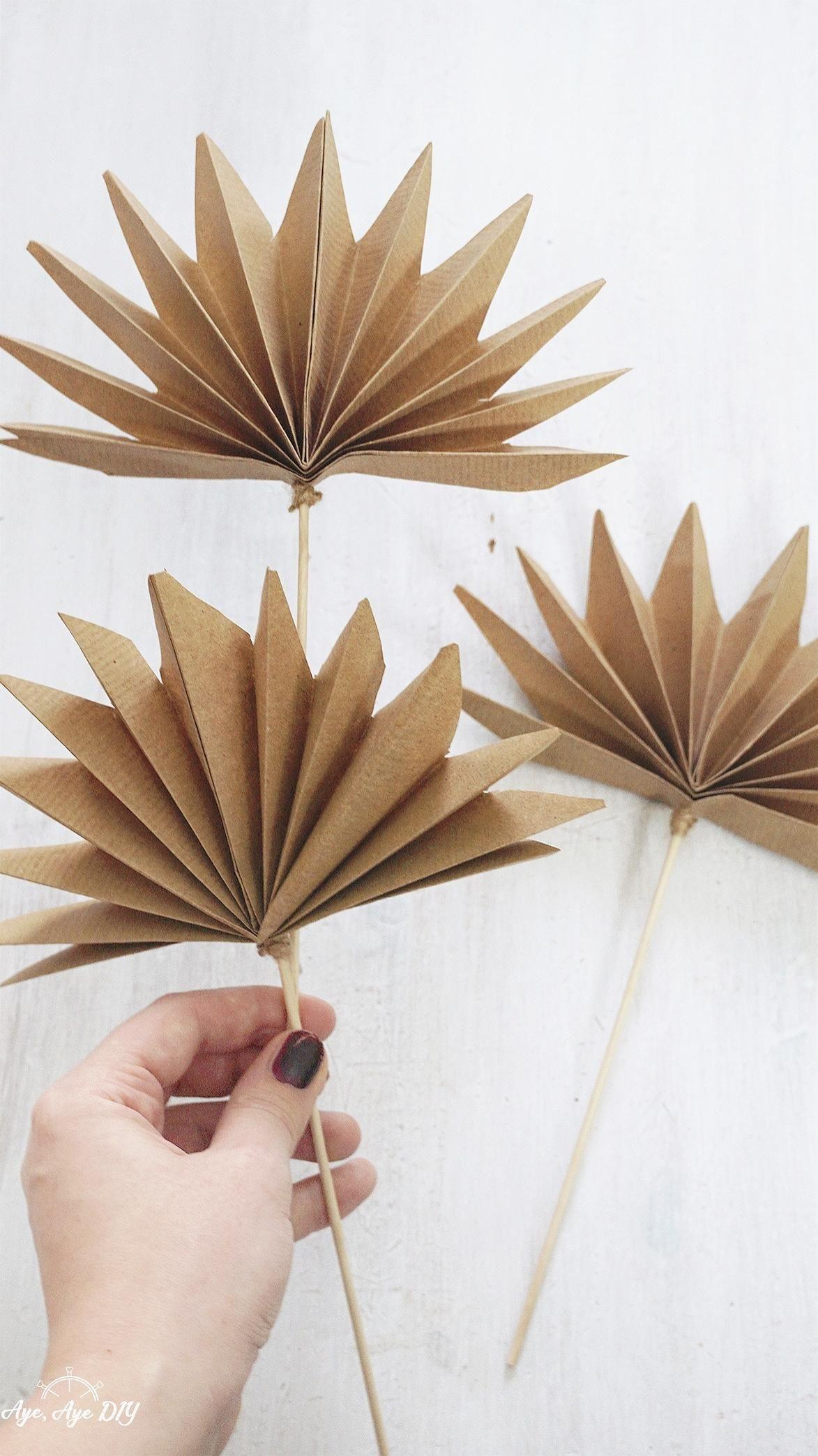 Photo of Palmenblätter basteln aus Papier * Urban Jungle DIY