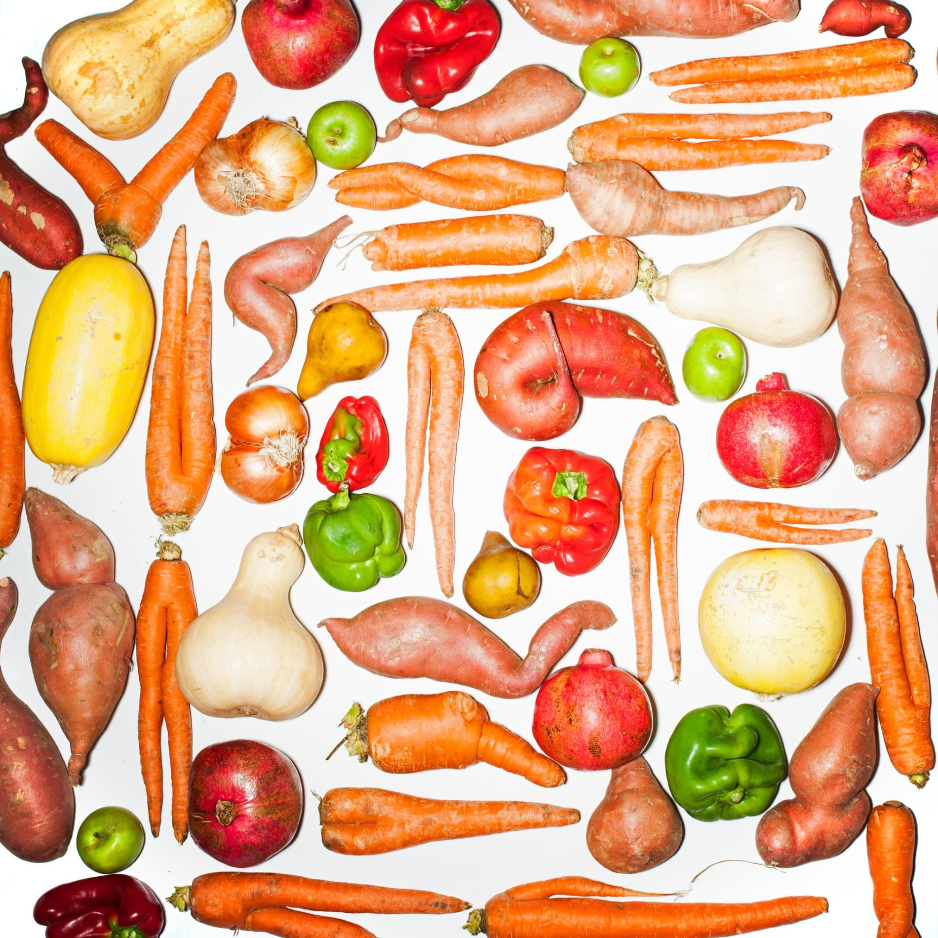 About a third of the planet's food goes to waste, often because of its looks. That's enough to feed two billion people.