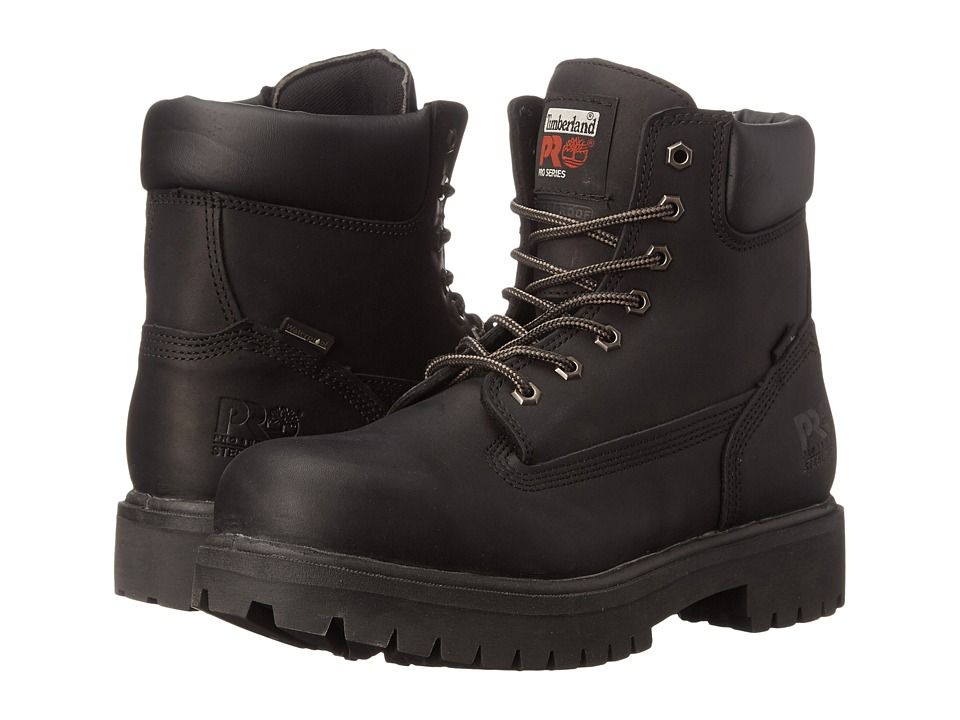 Caterpillar Mens Brent Black Full Grain Leather - Boots