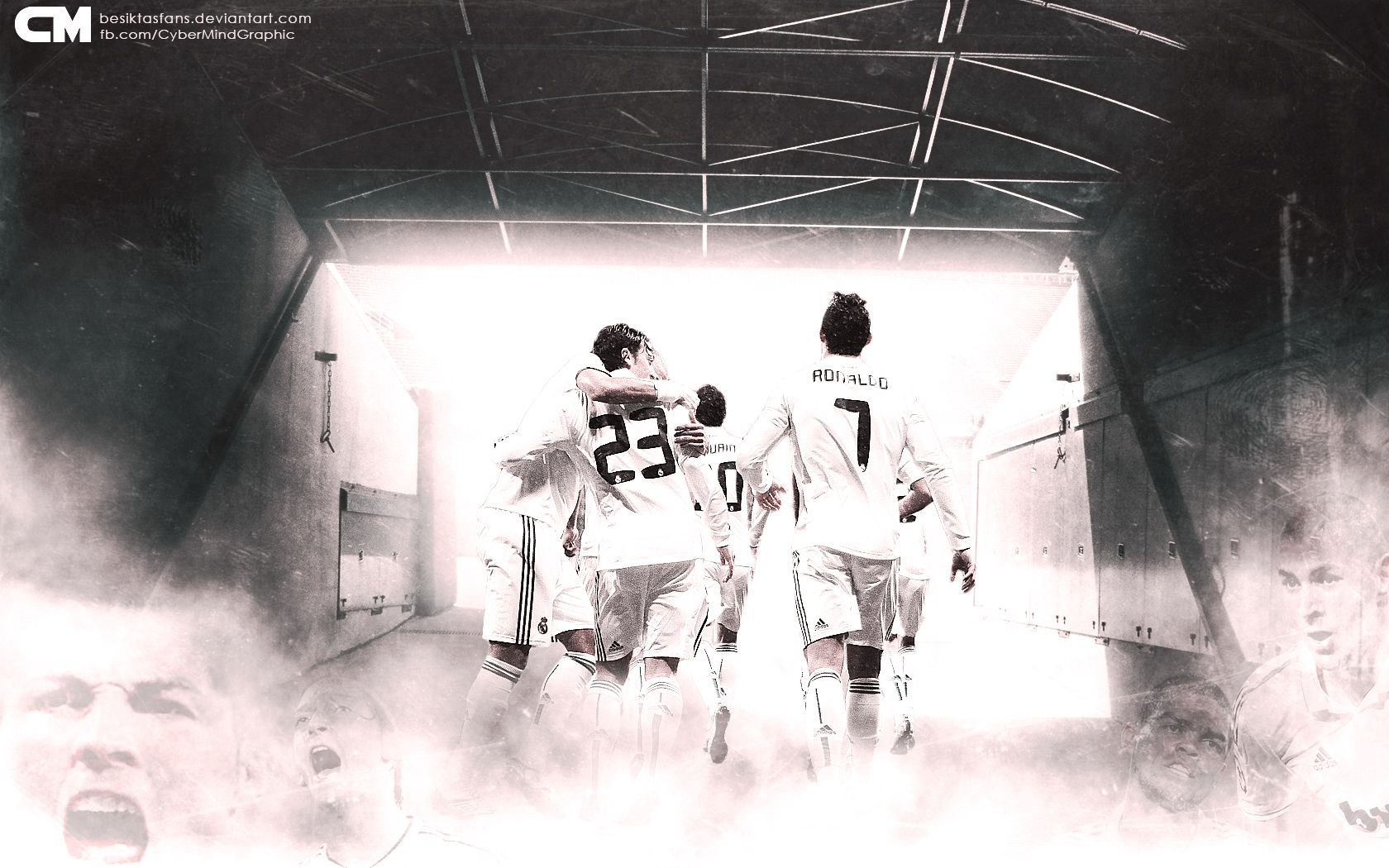 Los Galacticos Real Madrid Wallpaper
