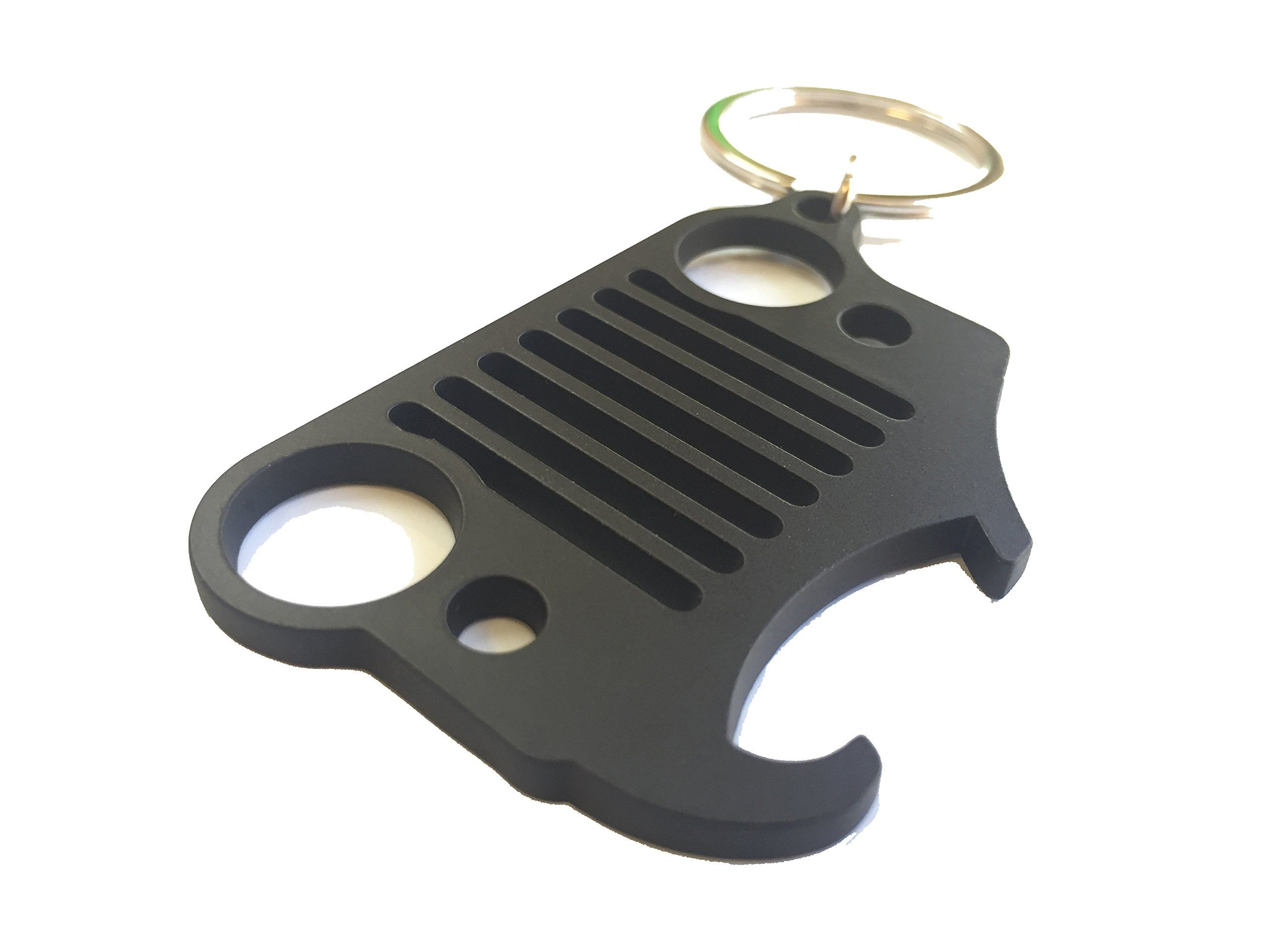 Off Camber Design Jeep Grill Key Chain Bottle Opener Keychain