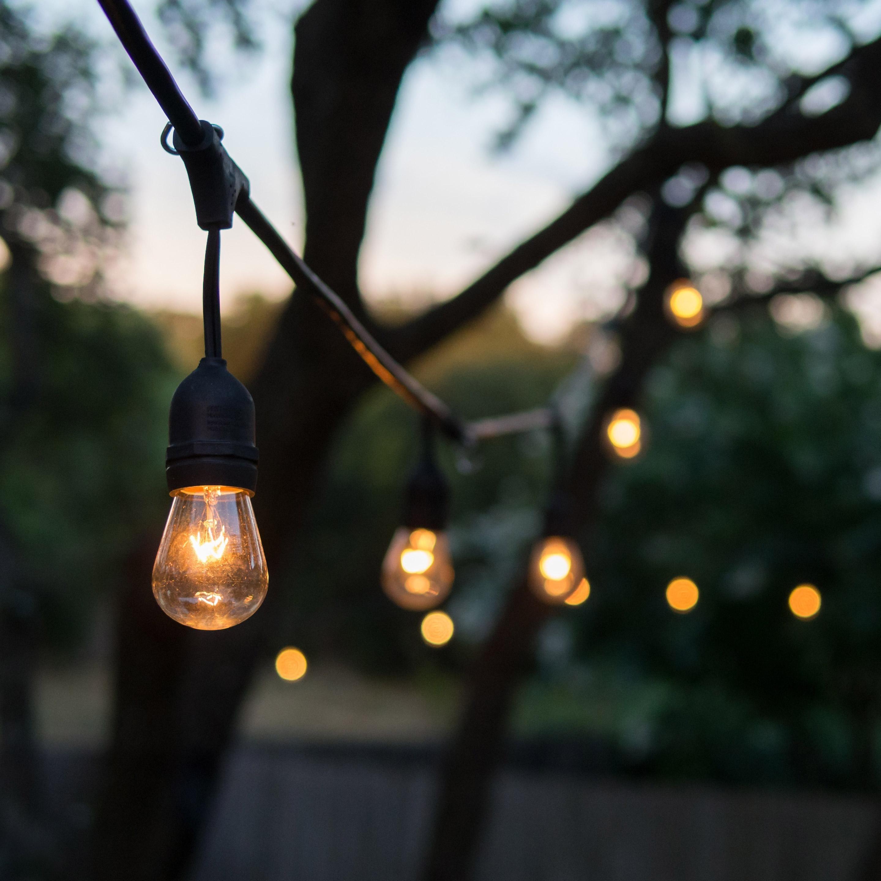 Guirlande Exterieure E27 10 Ampoules Blanc Chaud 96 Lumen Mafy Lumisky Leroy Merl Guirlande Exterieur Jeux De Lumiere Exterieures Guirlande Solaire Exterieur
