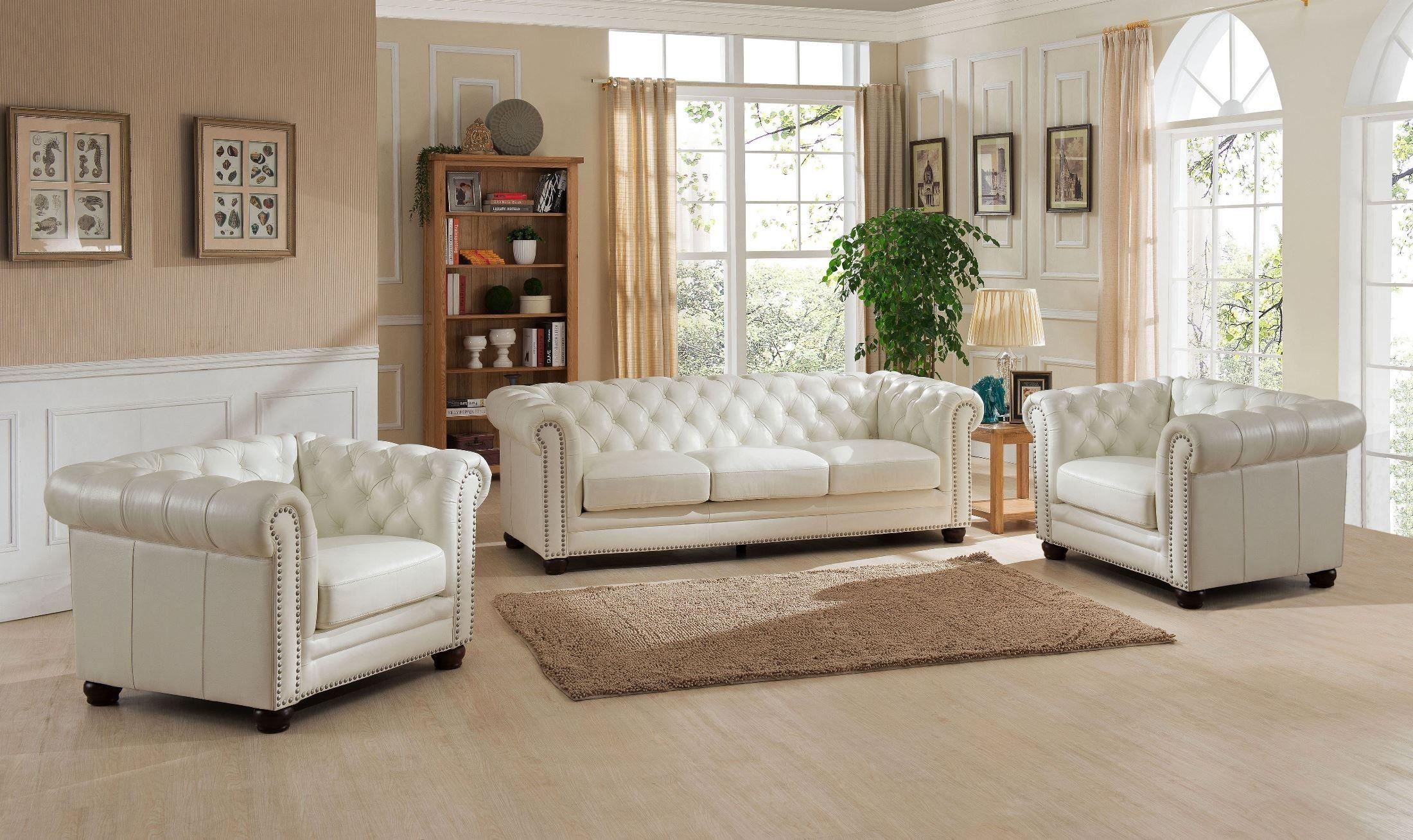 Monaco Pearl White Leather Sofa In 2021 Living Room Leather Living Room Sets Furniture White Leather Sofas White leather sofa and loveseat