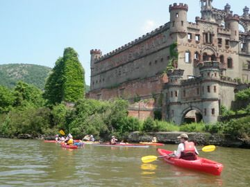 Hudson River Day Bannersman Castle From Cold Spring Riverdobbs Ferrycold