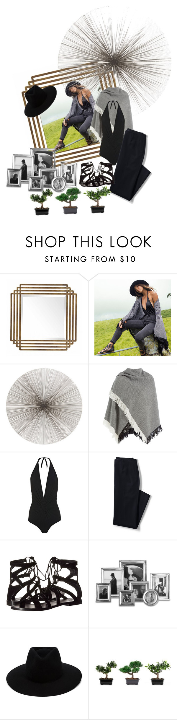 """Playful2"" by meladesigns ❤ liked on Polyvore featuring Billabong, Tisch New York, Burberry, Karla Colletto, Lands' End, Frye, Match, rag & bone, Nearly Natural and playful"