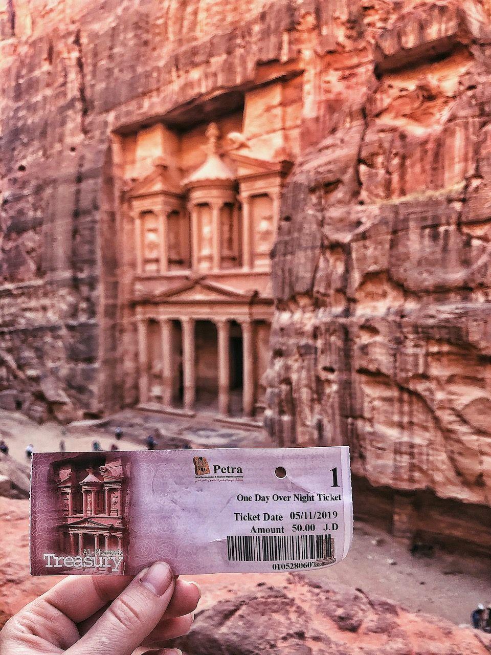 Petra Jordan Travel To A World Wonder Al Khazneh Treasury Jordanie Oude Stad Petra