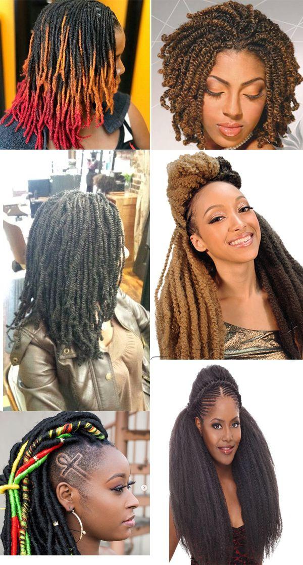 Hot Sale Braid Hair For African American Women Nubiantwists Wigs