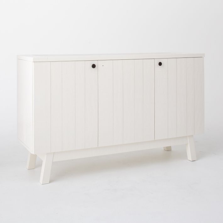 Great $800 White Lacquer Storage Cabinet