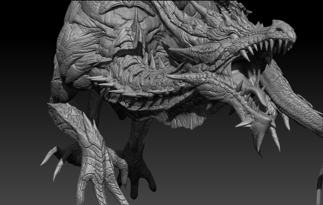 white dragon 3d - photo #23