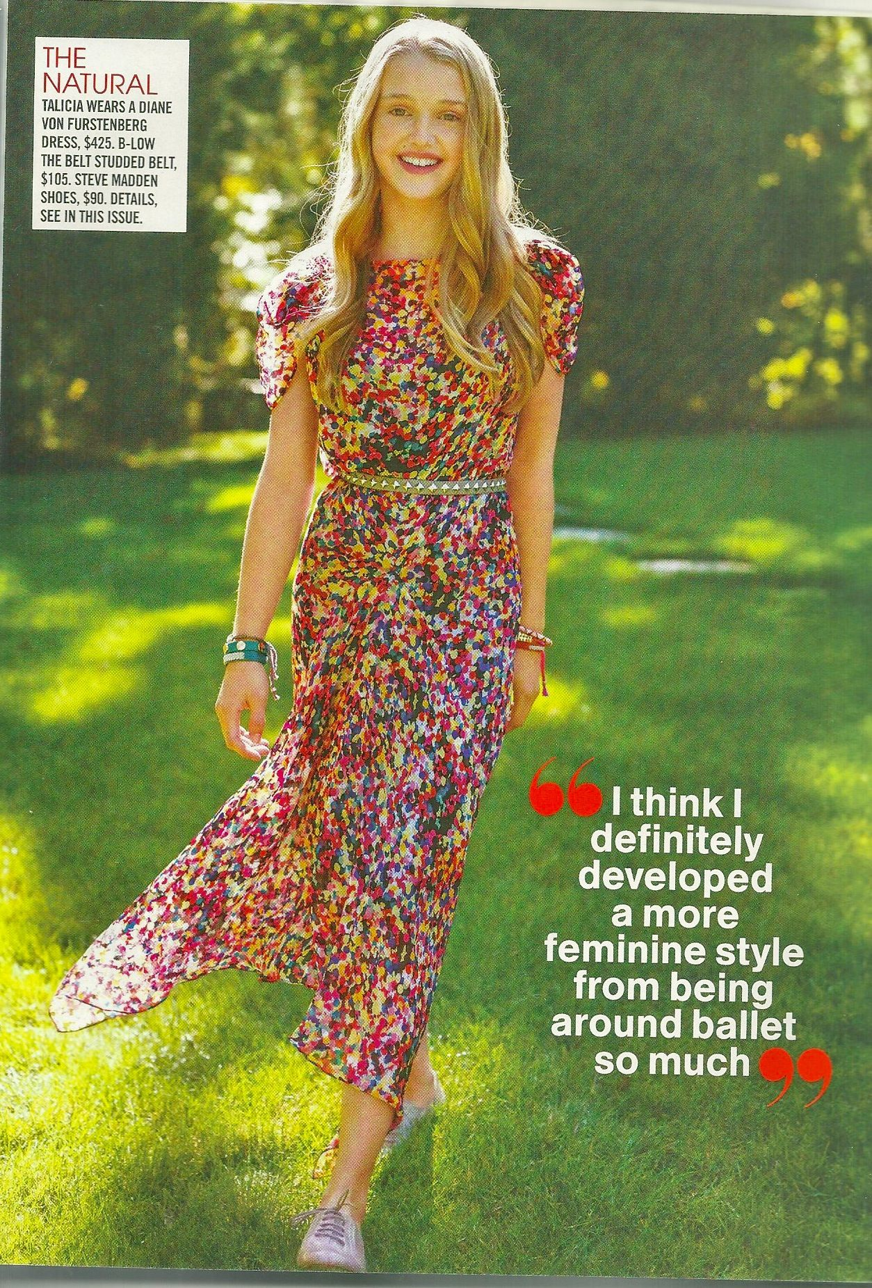 Talicia Martins in Feb. 2010 Teen Vogue | soft aesthetic ...