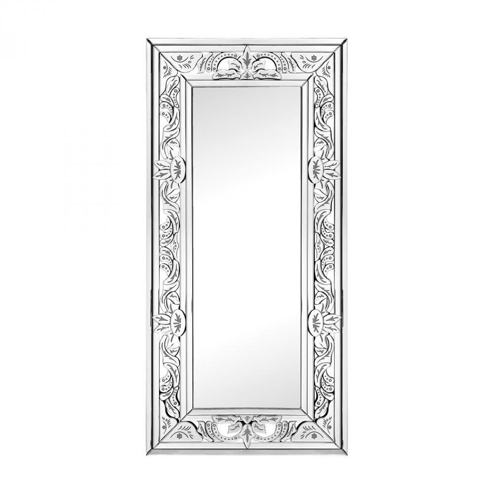 Camille Wall Mirror With Venetian Glass Frame : 46N72 | The Lighting ...