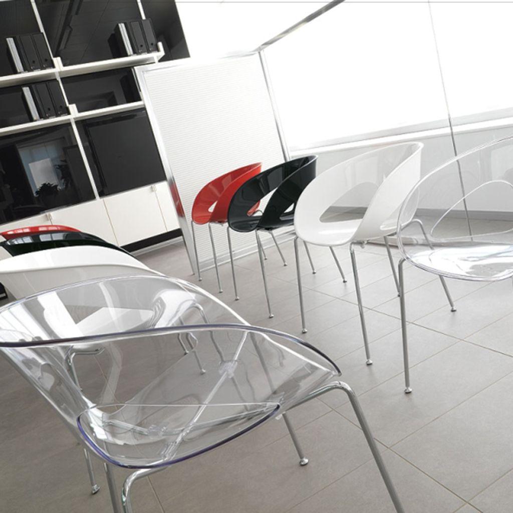 Stapelstuhl Zeccone Durchsichtige Stuhle Stapelstuhle Buromobel