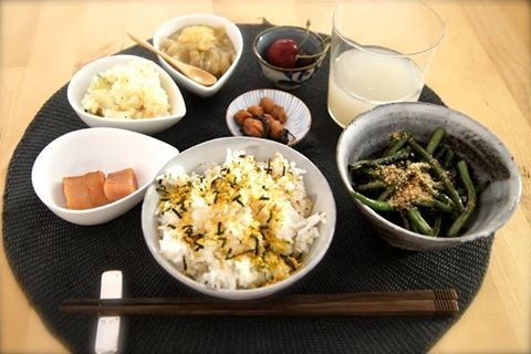 japanese lunch plate