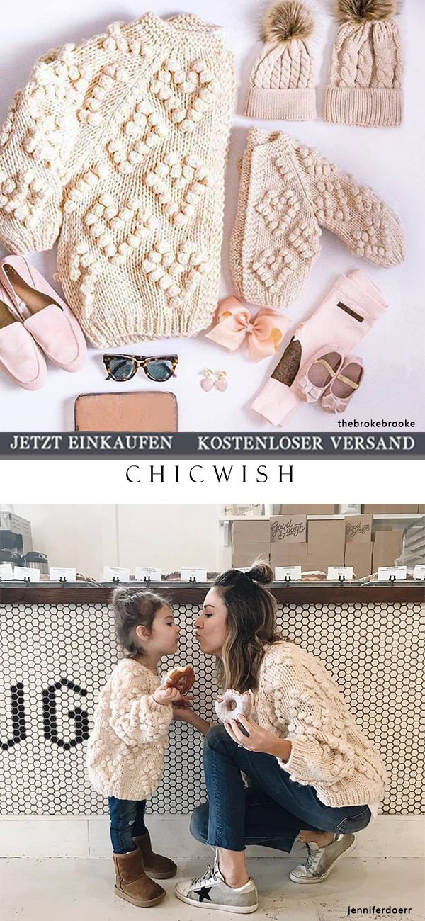 Knit Your Love- Strickjacke in Elfenbeinfarben #strickanleitungbaby
