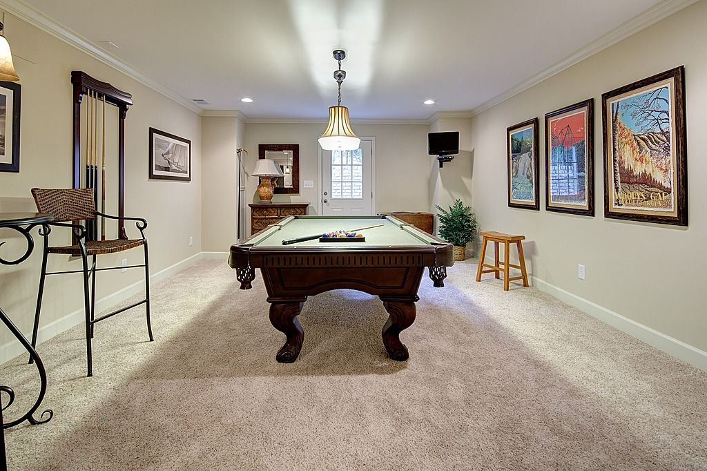 Traditional Game Room Find more amazing designs on