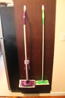 Use Command Hooks To Hang Your Swiffer Mop Genius I