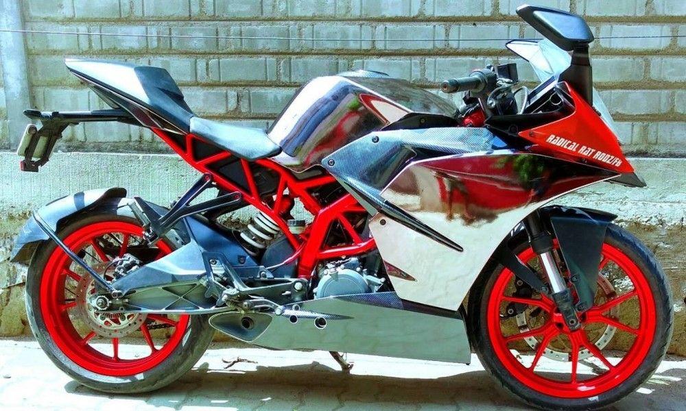 Ktm Rc390 Graphite Chrome And Bobby Red Edition By R A C E Ktm