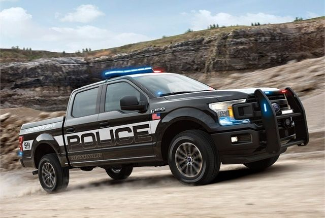 Ford Reveals F 150 Police Responder Police Cars Police Truck Ford F150