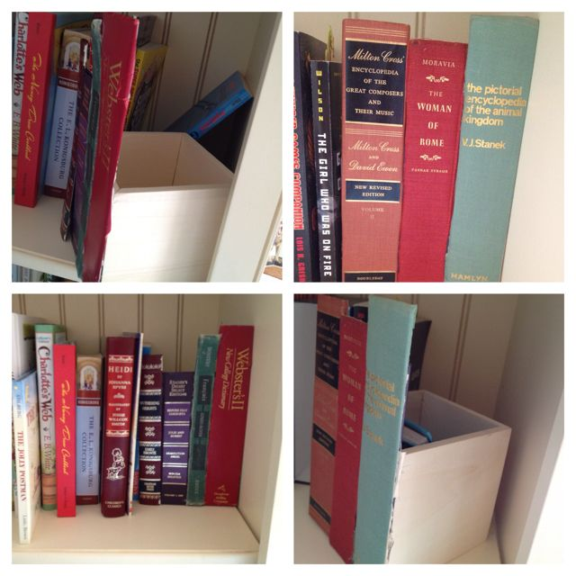 A Perfect Hiding Place On The Book Spine Box