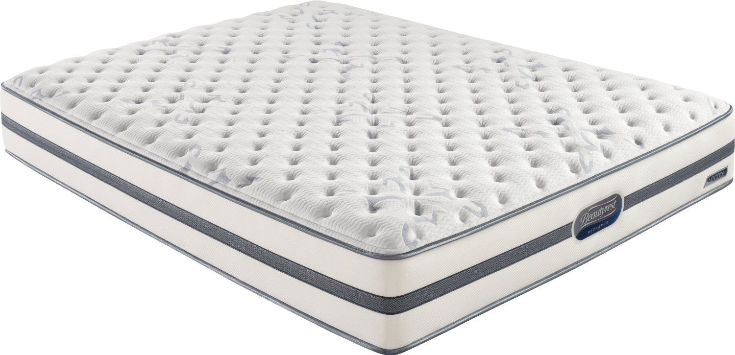 are the features of beautyrest recharge montano luxury firm mattress pocketed coil technology hundreds of our pocketed
