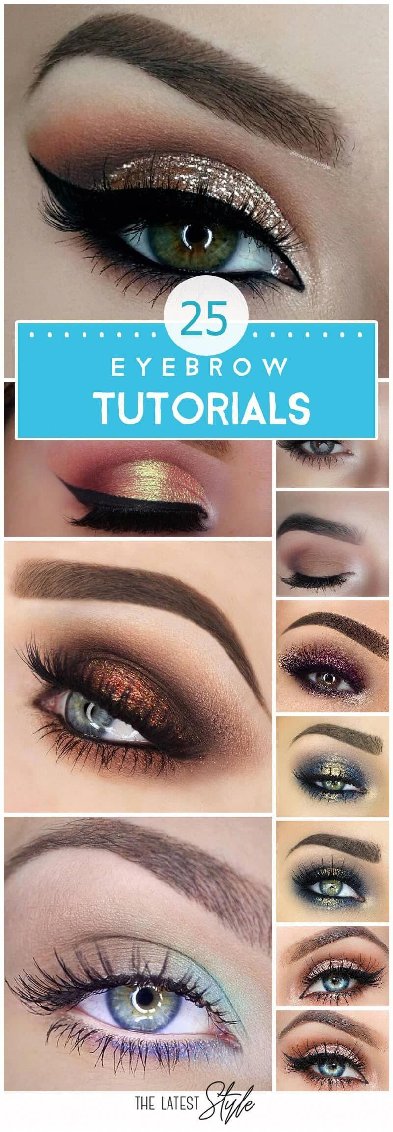25 Step-by-Step Eyebrows Tutorials to Perfect Your Look # ...