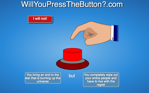 Big Red Button Meme