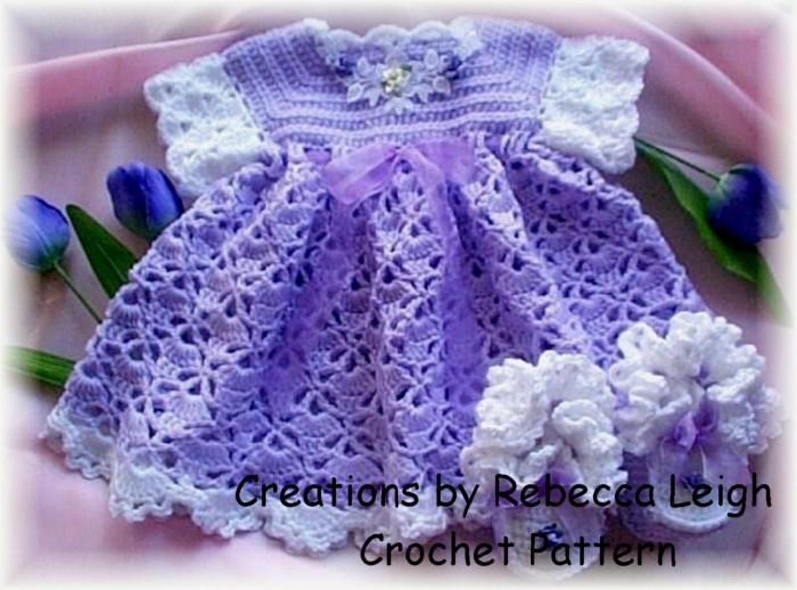 Easy Crochet Baby Dress Patterns - Perfect For Beginner Crocheters ...