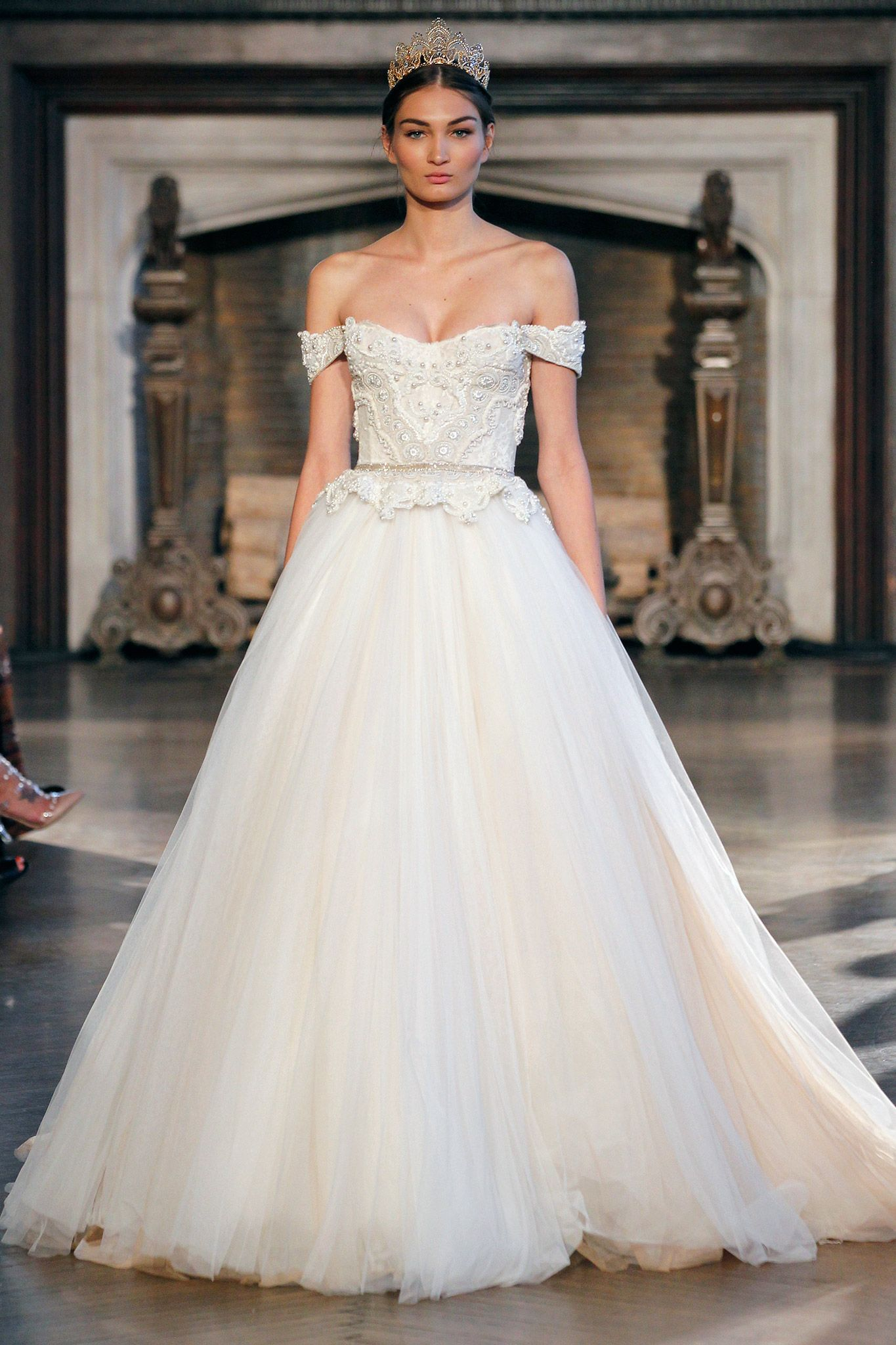 Fancy The Biggest Gown Trends from the Bridal Runway Shows