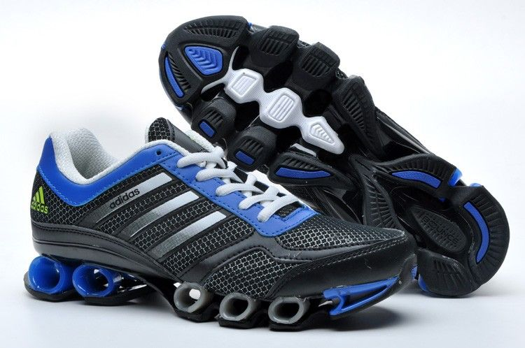 Adidas Bounce V3 Mens Black Blue White Running Shoes Regular Price: $170.00  Special Price $92.99