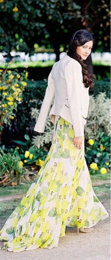 Floral in Yellow