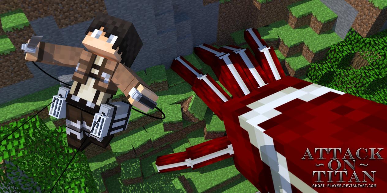 Attack On Titan - Minecraft by GhosT-Player | Minecraft